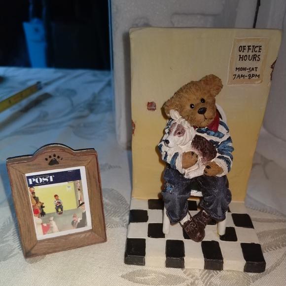NEW Saturday Post Boyds Bear Figure